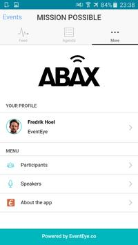 ABAX Events poster