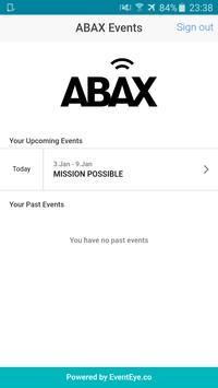 ABAX Events screenshot 1