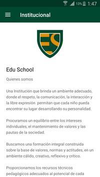 Edu School screenshot 2