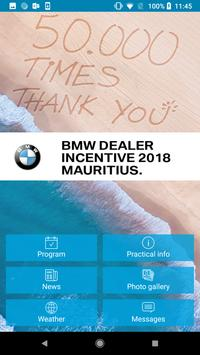 BMW Mauritius Experience poster