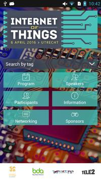 Internet of Things - 2016 NL poster