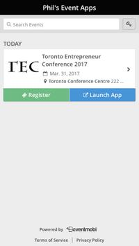 TEC EVENTS 2017 poster