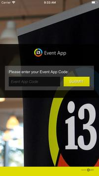 [i3] Event App poster