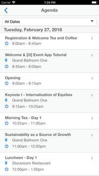 [i3] Event App screenshot 2