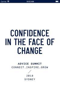 Advice Summit 2018 poster