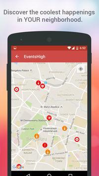 Events High - Meet Your City! apk screenshot