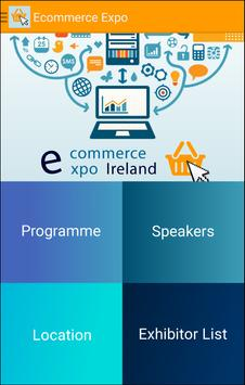 eCommerce Expo Ireland 2015 poster