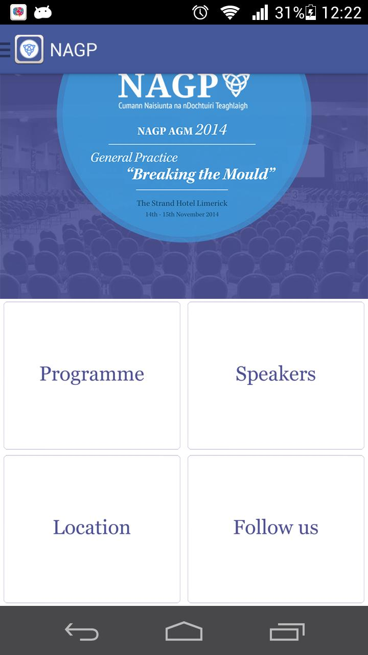 NAGP Conference 2014 poster