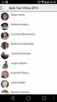 Agile Tour Vilnius apk screenshot