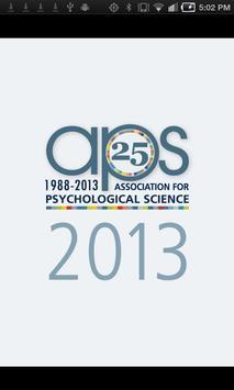 25th APS Annual Convention screenshot 3