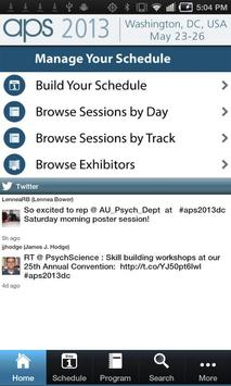 25th APS Annual Convention poster