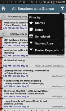 25th APS Annual Convention screenshot 1