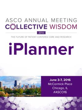 ASCO 2016 iPlanner apk screenshot