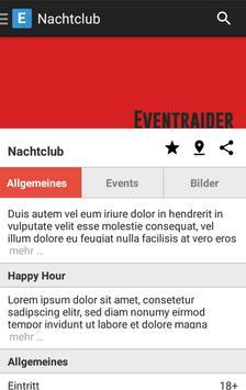 Eventraider apk screenshot