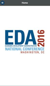 EDA 2016 National Conference poster