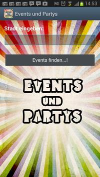 Events und Partys poster