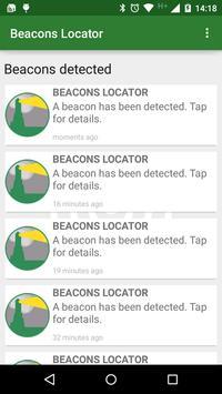 Beacons Locator | ETI poster