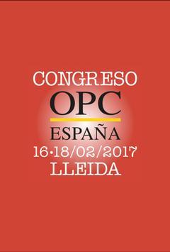 CONGRESO OPC ESPAÑA 2017 poster
