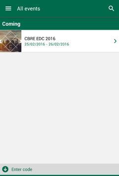 CBRE Events Spain apk screenshot