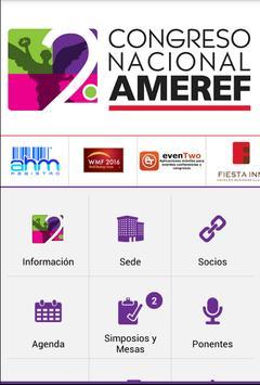 2º Congreso Nacional AMEREF apk screenshot