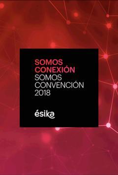 Somos Convención Ésika EC poster
