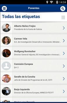 Conferencia H2020 en España apk screenshot