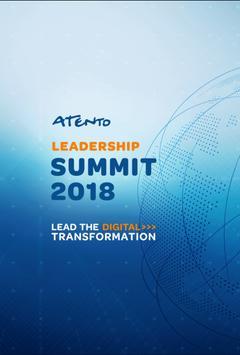 Atento Leadership Summit 2018 poster