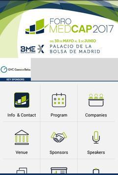 MEDCAP FORUM 2017 apk screenshot
