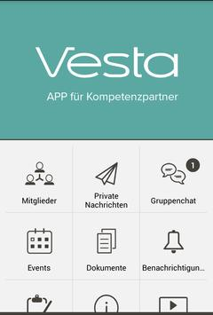 Vesta Kommunikationsapp screenshot 1