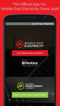 Middle East Electricity Show 2018 poster