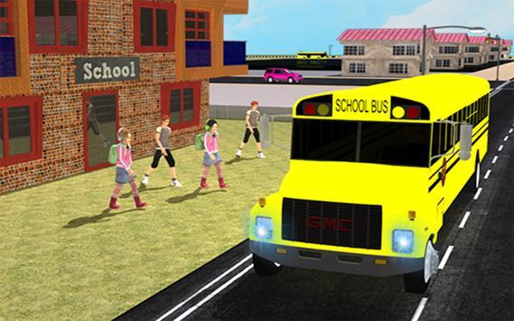 Modern City School Bus Driver apk screenshot