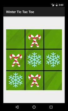 Winter Tic Tac Toe poster