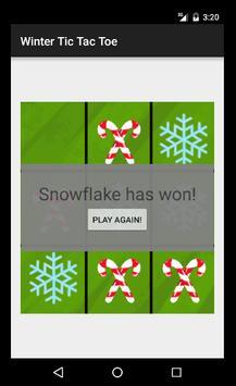 Winter Tic Tac Toe apk screenshot