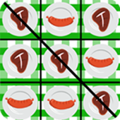 Meat Lovers Tic Tac Toe icon