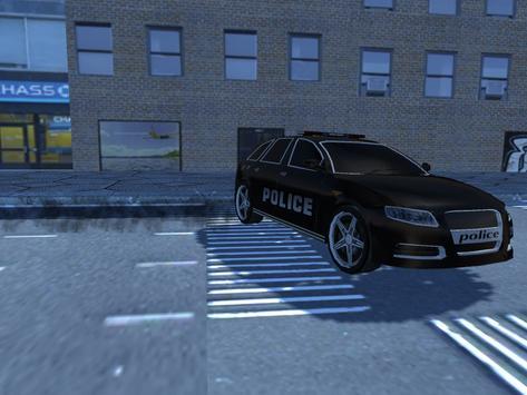 Police SuperHero poster