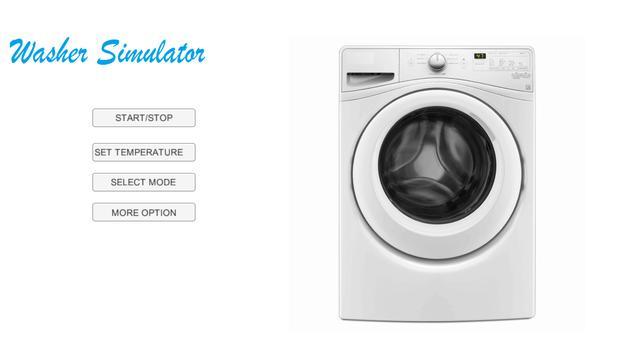 Washer Simulator 2017 poster