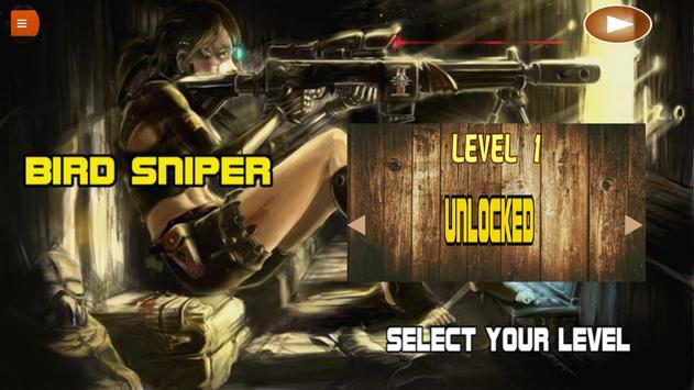 Bird sniper - hunting season apk screenshot