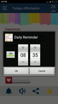 Daily Affirmation screenshot 3