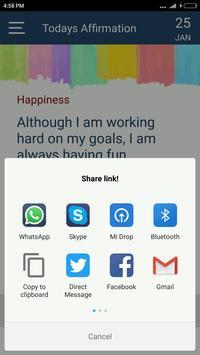 Daily Affirmation screenshot 4