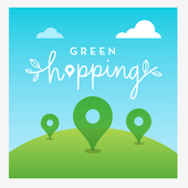 Green Hopping icon
