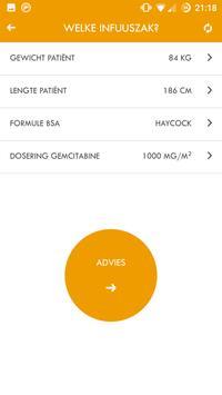 Gemcitabine dosering hulp apk screenshot