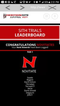 Sith Trials screenshot 2