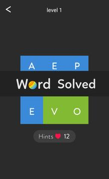 Word Shades Brain Puzzle apk screenshot