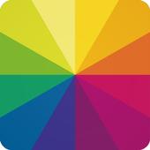 圖片編輯器 – 照片美化 & 美圖修飾,特效濾鏡 & 照片拼貼應用程式 圖標