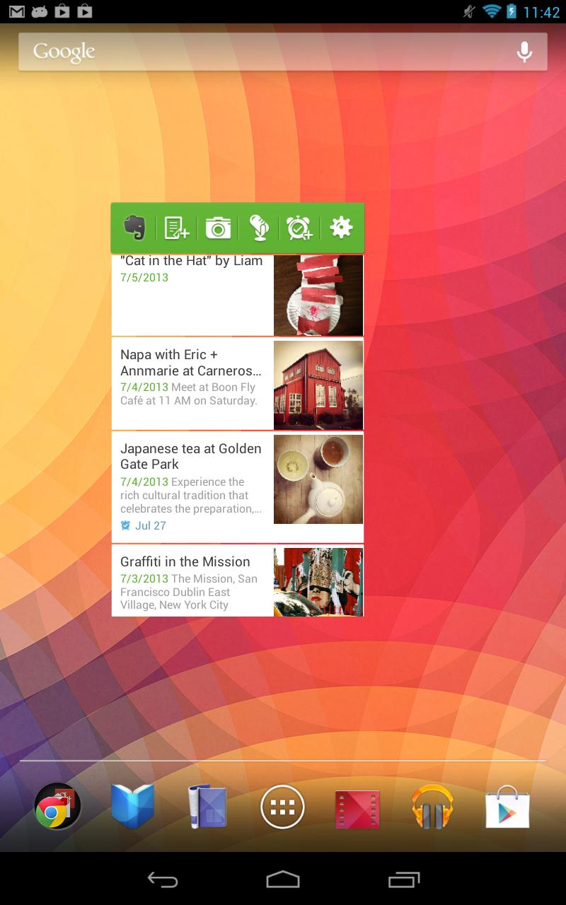 Evernote Widget for Android - APK Download