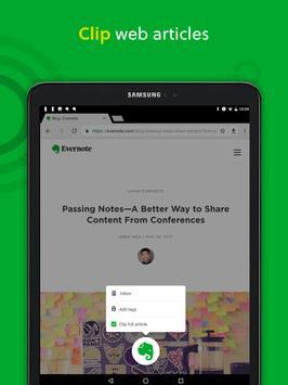 Evernote apk screenshot