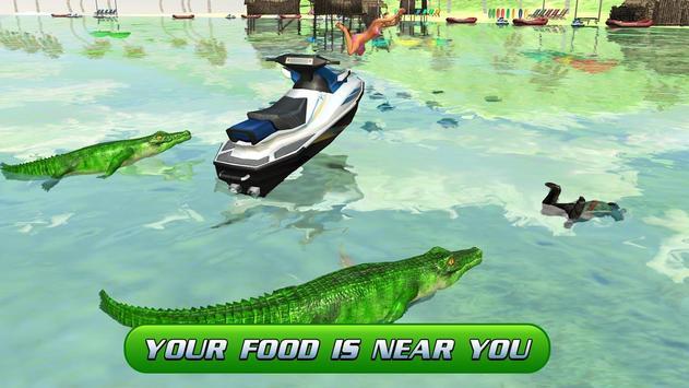 Swamp Crocodile Attack 2017 poster