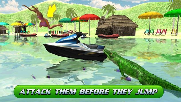 Swamp Crocodile Attack 2017 apk screenshot