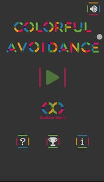 Colorful Avoidance poster