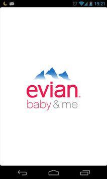 evian baby&me app - reloaded poster